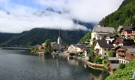 Alpine Panoramic Tour to Hallstatt from Vienna